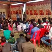 A camp conducted by ICICI Academy of Skills at Pryaog to select drop out youths for skill training_25 youths were successfully placed with decent salaries in the first batch_Nov 2015