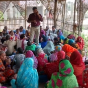Interaction with parents of 50 children who are part of the tablet program_June 2015